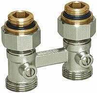 Узлы нижнего подключения для радиаторов с внутренней резьбой 1/2' Basicline (Rossweiner) Meibes