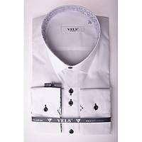 Рубашка VELS 1 пр. отд. цв.