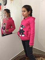 Тёплый костюмчик для девочек