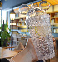 Бутылка Микки Маус Ice Cup. Прозрачная