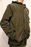 Куртка-парка демисезонная для мальчиков. Размеры от 8 до 16лет. (134-164см.).Фирма-S&D. Венгрия