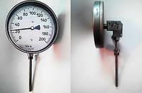 Термометр биметаллический показывающий с поворотно-откидным корпусом