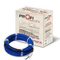Тонкий нагрівальний кабель двожильний 1.2 - 1.6м.кв (220Вт) Profi therm EKO FLEX (тепла підлога)