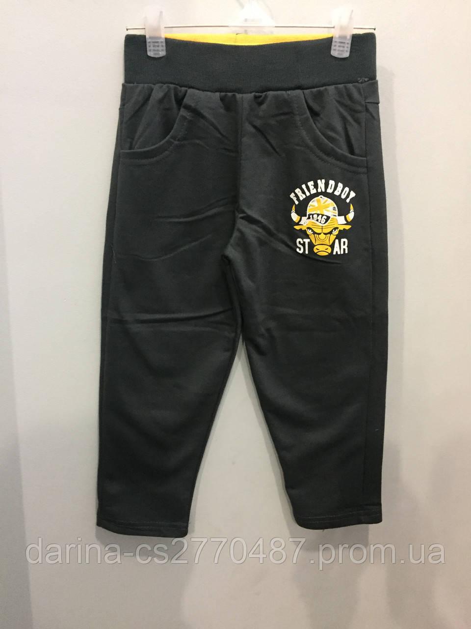 Спортивные брюки на мальчика 98 см