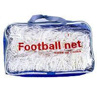 Сетка для футбольных ворот 5,5 на 2,44 м. FN-01-7 (2 шт.)