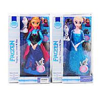 Кукла Холодное сердце Frozen WJ300 со снеговиком: 2 вида, шарнирная