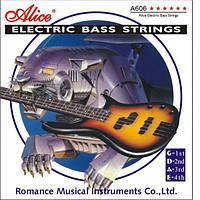 Струны для бас гитары Alice A606-M