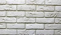 Плитка цементная под кирпич цвет Бельгийский 1 размер 240х15х71мм