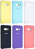 Чехол накладка Samsung Original Silicone Case для Samsung Galaxy S8 Plus (G955)
