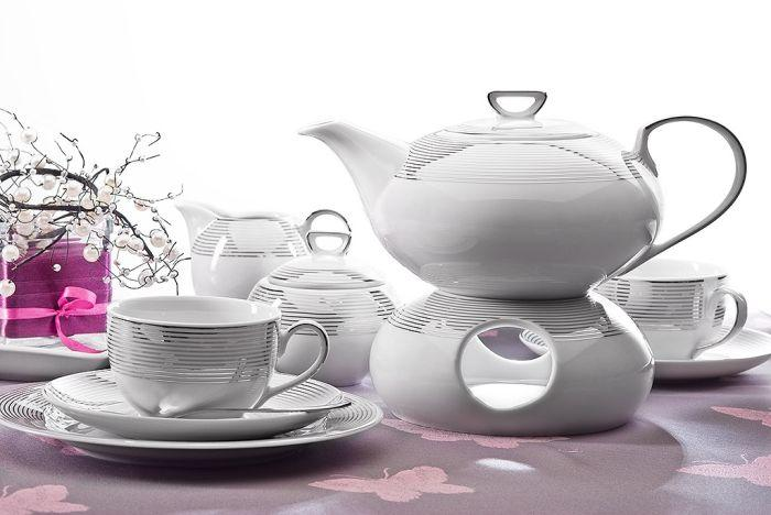 Сервіз чайний Cmielow Yvonne 6/15 520