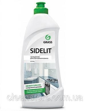 """Чистящий крем для кухни и ванной комнаты Grass """"Sidelit"""", 500 мл."""