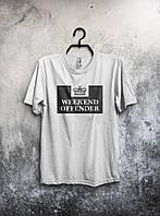Стильная футболка Weekend Offender унисекс