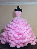Взрослое, бальное платье Облако пошив под заказ от производителя, украина и россия