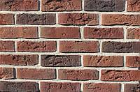 Плитка цементная под кирпич цвет Бельгийский 8 размер 240х15х71мм, фото 1