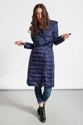 Куртка женская длинная Glo-Story, синий цвет, фото 2