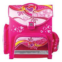 Ранец детский школьный TIGER  1717D Сердечки (рюкзак), 15 л, 38х34х19 см + спиннер в подарок!!!