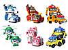 Robocar Машинка-трансформер Робокар. Все персонажи .
