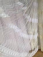 Тюль из фатина с вышивкой, код-mrc5003, фото 1