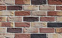 Плитка цементная под кирпич цвет Бостон 10 размер 210х15х65 мм, фото 1
