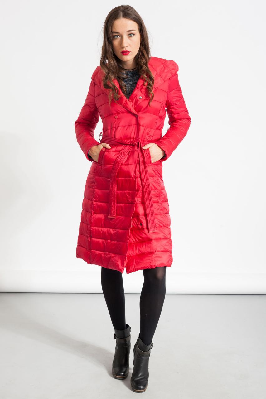 Куртка женская длинная Glo-Story, красный цвет