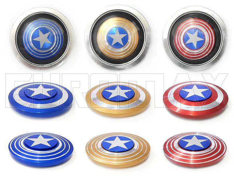 Спиннер металлический Captain America 1026