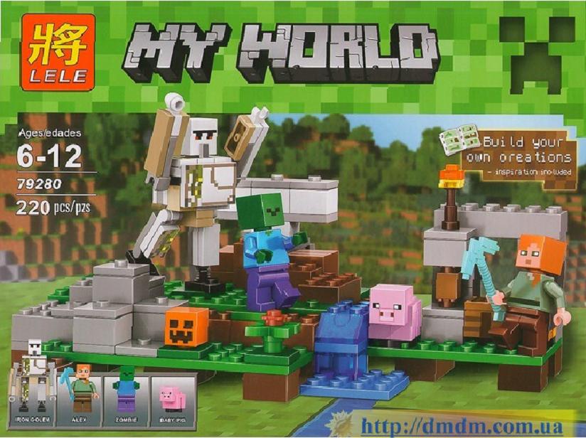 Конструктор Minecraft, Железный голем