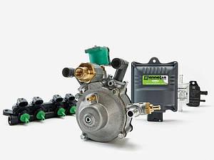 Мини комплект EMMEGAS SIMPLE 4 цилиндра                до 160 Л.С
