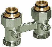 """Узлы нижнего подключения для радиаторов с наружной резьбой 3/4'' Basicline (Rossweiner)Meibes Тип D2/50 прямой, 3/4""""BPx3/4""""HP"""
