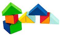 Деревянный конструктор nic nic523345 Разноцветный треугольник