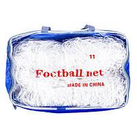 Сетка для футбольных ворот 7,3 на 2,44 м. FN-02-11 (2 шт.)