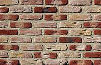 Плитка цементная под кирпич цвет МФ 50 глина размер 190х20х50 мм