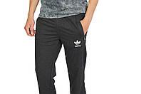 Темно-Серые мужские трикотажные штаны спортивные ADIDAS, фото 1