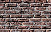 Плитка цементная под кирпич цвет МФ 50 карбон размер 190х20х50 мм