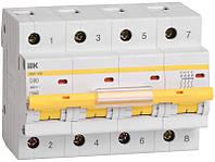 Автоматический выключатель ВА47-100 4Р 50А 10кА х-ка D ИЭК, фото 1