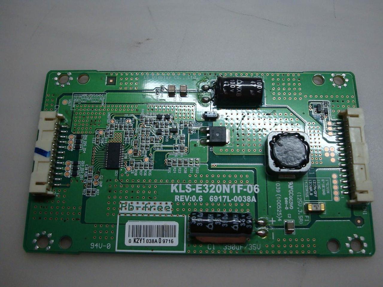 "Запчасти к телевизору 32"" LG 32LE3300 (LGP3237-10Y, KLS-E320N1F-06, 6917L-0038A)"