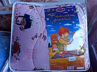 Одеяло и подушка детский комплект.
