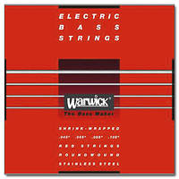 Струны для бас гитары WARWICK 42200 RED LABEL M4 (45-105)