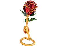 Шкатулка со стразами Роза №2554