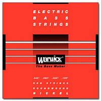 Струны для бас гитары WARWICK 46200 NICKEL ELECTRIC BASS M4 (45-105)
