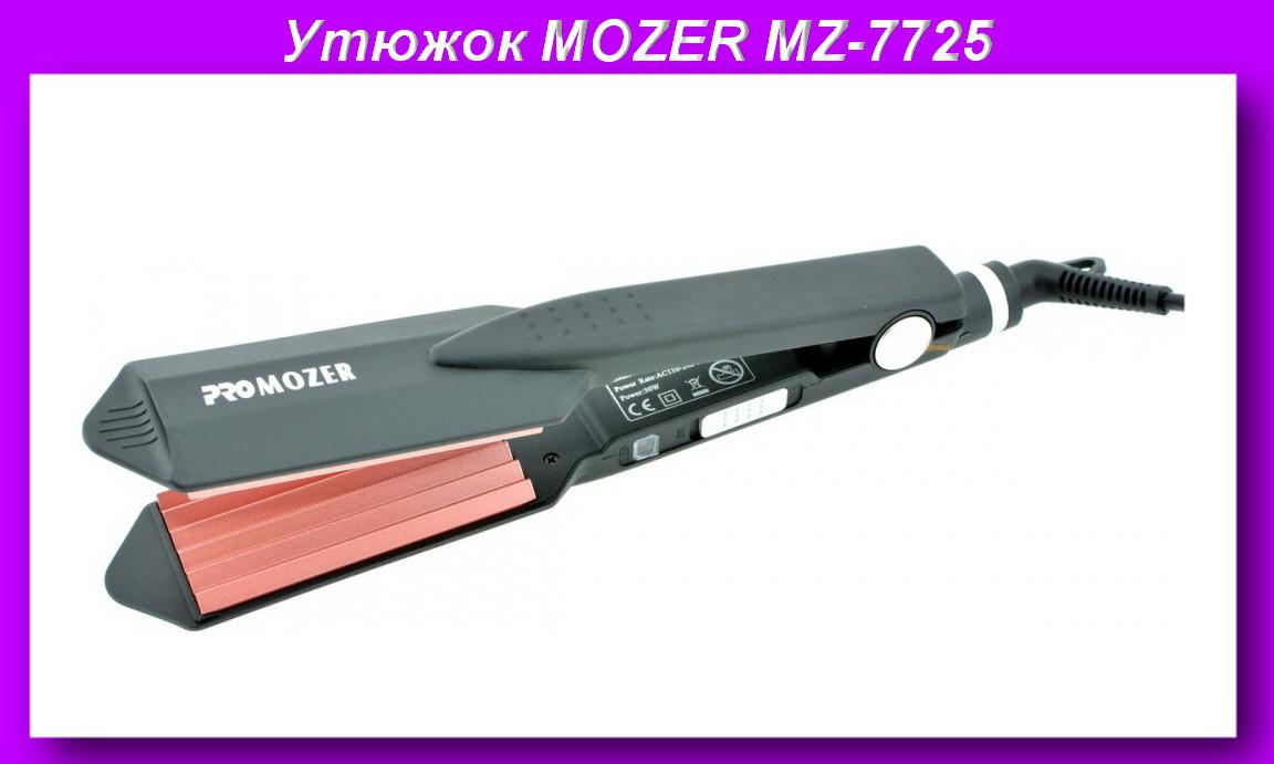 PRO MOZER MZ-7725 Гафрэ,Плойка щипцы для волос