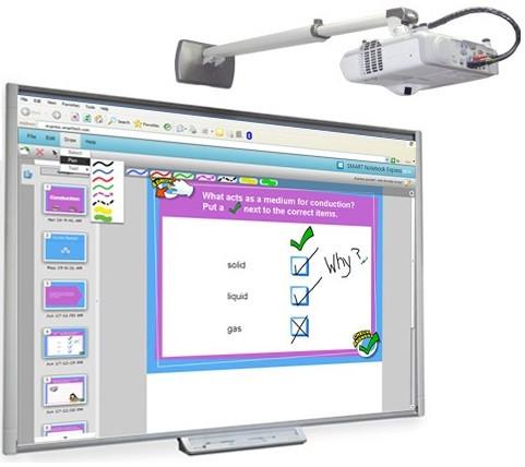 Интерактивный комплект SMART Board SBM685V+IN126STx - Интернет-магазин Market4U в Киеве