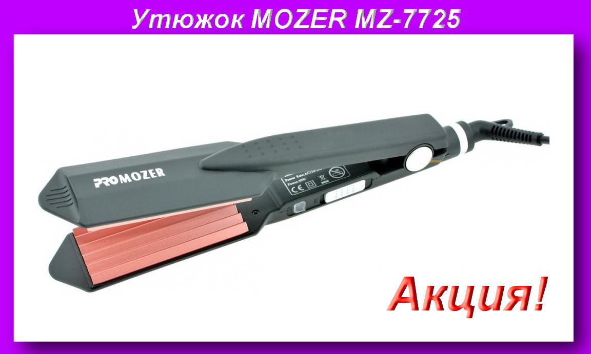 PRO MOZER MZ-7725 Гафрэ,Плойка щипцы для волос!Акция
