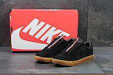 Мужские кроссовки Nike SB замшевые черные, фото 3
