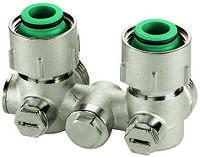 Узлы нижнего подключения для однотрубных систем для радиаторов с наружной резьбой 3/4'' Meibes