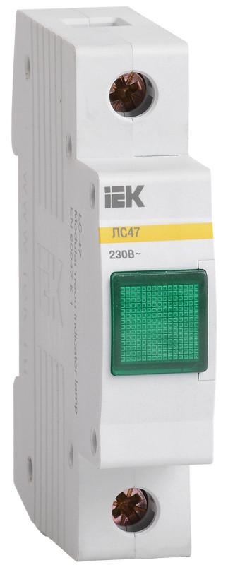 Сигнальная лампа ЛС-47 (зеленая) (неон) ИЭК