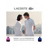 Lacoste Eau de Lacoste Pour Homme L.12.12. Magnetic туалетная вода 100 ml. (Лакост Эу Де Л.12.12 Магнетик), фото 5