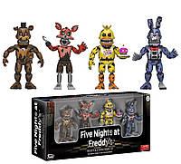 """Набор фигурок 5 ночей с Фредди/ Funko Five Nights at Freddy's 2"""" Nightmare Edition Vinyl Figure Four Pack"""
