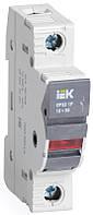 Предохранитель-разъединитель с индикацией ПР32 1P 10х38 32А ИЭК, фото 1