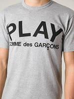 Футболка Play Comme Des Garcons (Плей Коме Дес Гарконс)