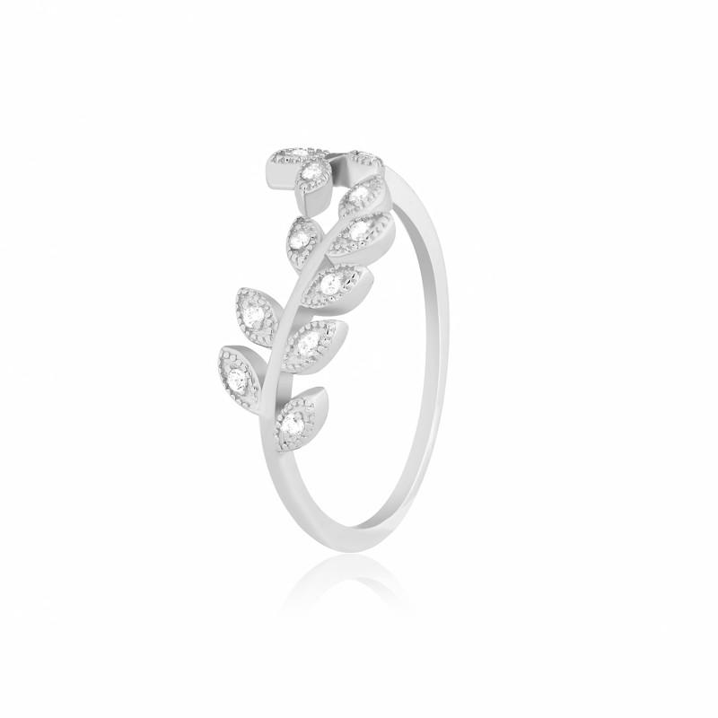 """Серебряное кольцо с камнями """"291"""""""